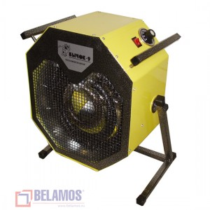 Электрический тепло вентилятор Бычок